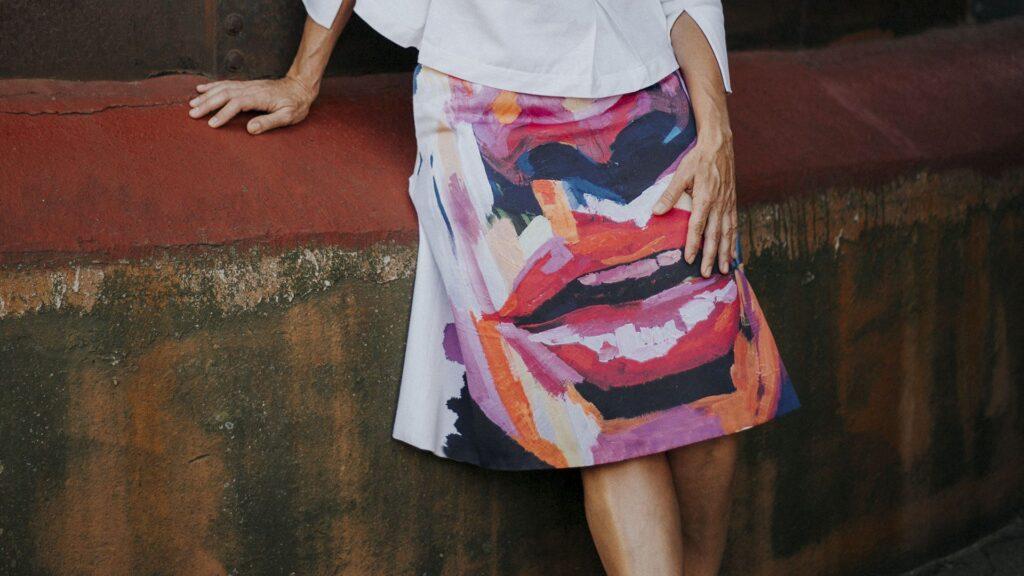 falda-midi-evase-falda-maldita-maria-moda-sostenible
