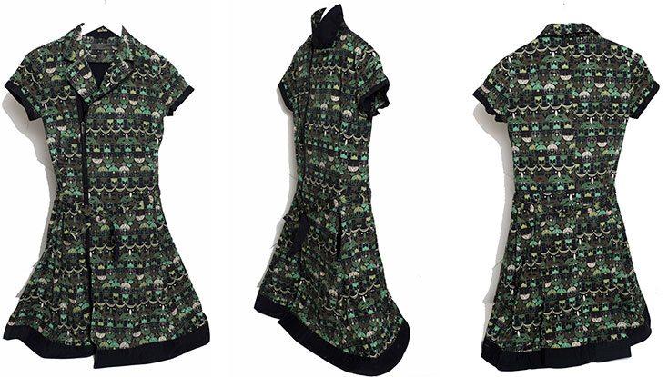 Vestido de algodón orgánico Skunkfunk