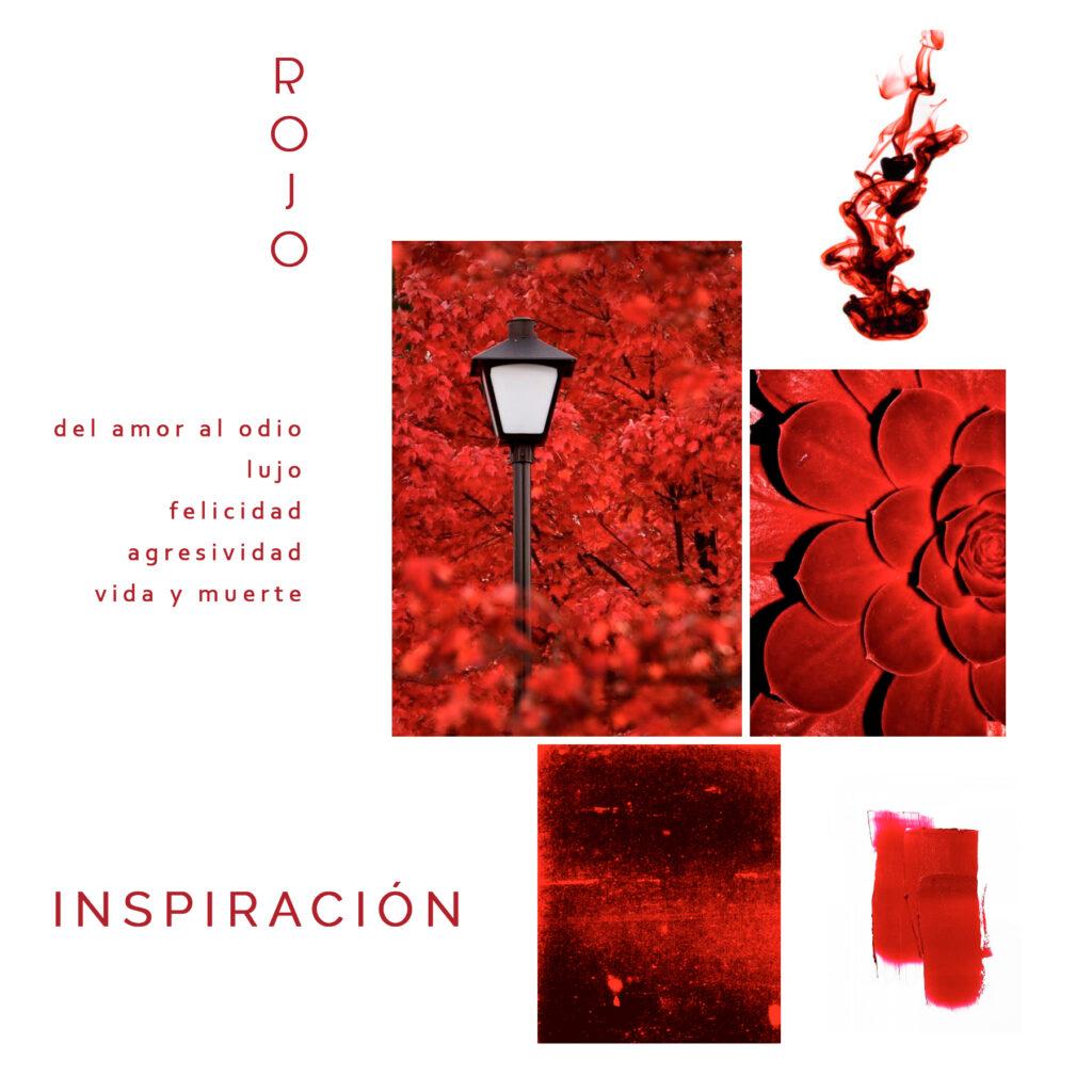 Inspiración rojo Maldita María faldas