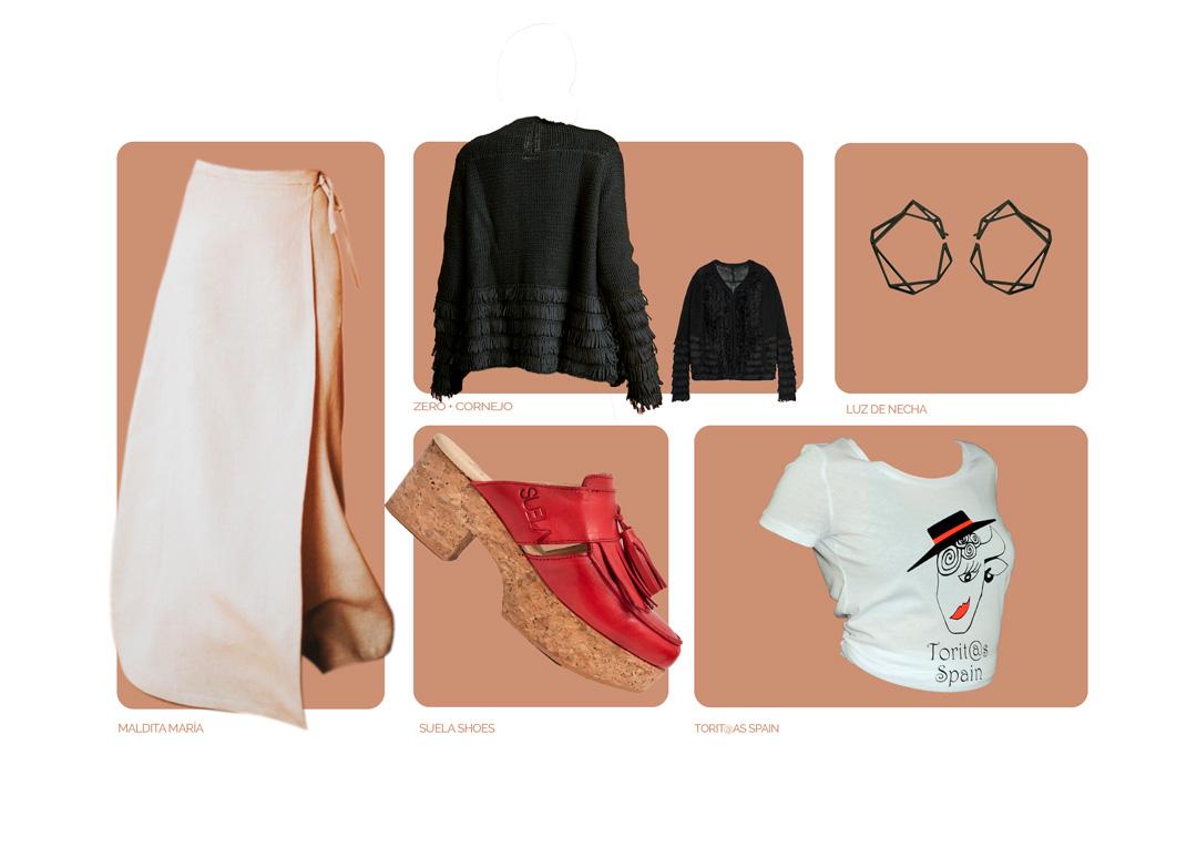 Look-Maldita-María-falda-larga-pareo-CALLE-